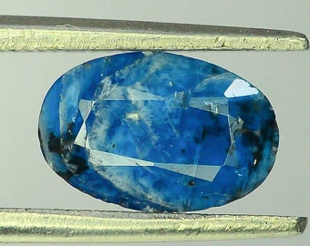 0.90 carats Natural Deep Blue Afghanite Extremely Rare gemstone from  Afghanistan - 8.5*5.7*2.6mm