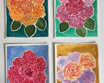 Original watercolor greeting cards