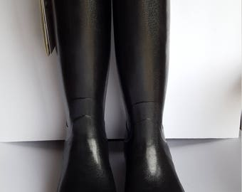 Hunter Black Boots from Scotland