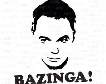 Inspired The Big Bang Theory svg,  Sheldon svg,  Bazinga svg, SVG, PNG, JPG, design svg, jpeg download, Big bang svg