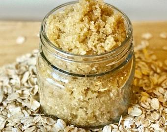 Oatmeal Honey Body Scrub