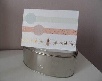 Wedding card, greeting card for wedding, congratulations card