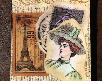 Vintage Pocket Junk Journal A3