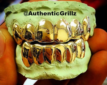 Authentic Custom 6 on 6 (12 Teeth) Grill