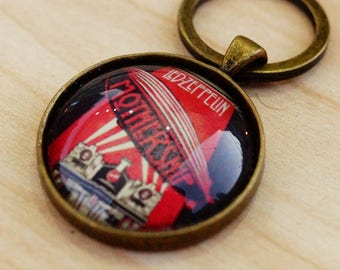 Led Zeppelin Mothership Keyring