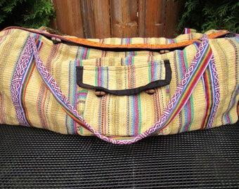 Yoga bag fair trade sports bag hippie boho style
