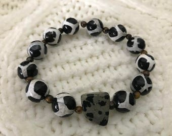 Black & White Showstopper Bracelet