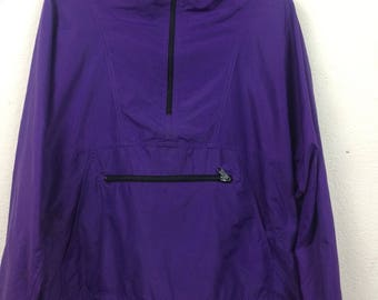 Vintage 90s LL Bean Windbreaker Pullover Jacket Activewear Size L