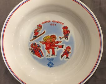 1984 Winter Olympics Campbell's Collector Plate