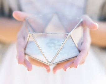 Clear glass box Etsy