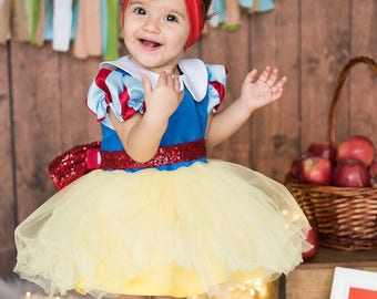Snow White Dress for Little Princesses