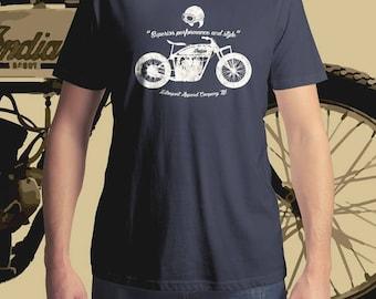 Indian Scout T-Shirt, Men's T-Shirt, Women's T-Shirt, MotoGP T-Shirt, Motorcycle T-Shirt, Vintage Motorcycle T-Shirt, Vintage Motorbike