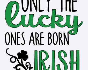Lucky Irish Decal