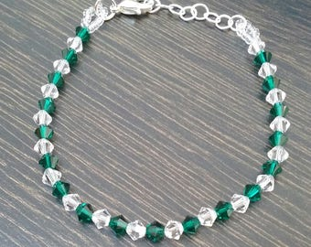 Bracelet with Swarovski stones
