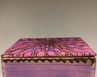 Decorative floral box