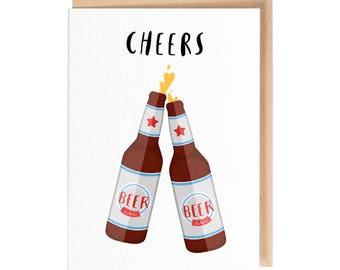 Cheers - Greeting Card - Folio - thisisfolio - Stationery