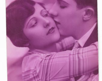 Couple of lovers card of 1925