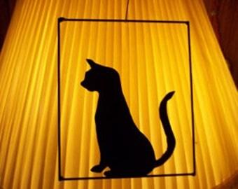Wireart Standing Cat