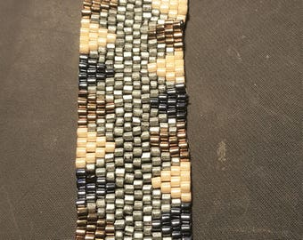 Hand Woven Beaded Bracelet - Southwestern BoHo Style