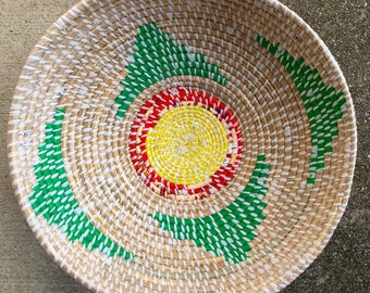 Green Triangle Basket