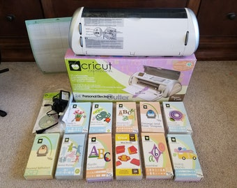 Cricut Expression brand new with cartridges