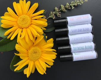 Full Set of Baby Essential Oil Blends (4+ Months)