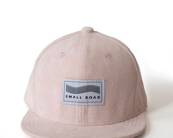 Stylish suede look SnapBack Hat in baby, kid and adult size