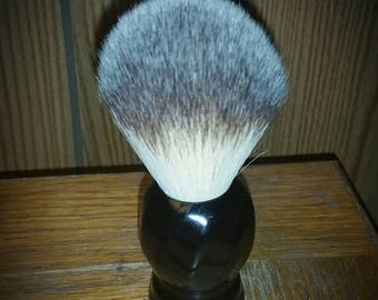 Restored Vintage Kesso shaving brush with 22mm synthetic Sunrise knot