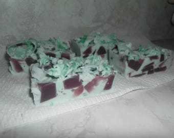 Peppermint Vanilla Goat's Milk Olive Oil Soap Bar
