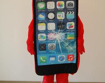 I-PHONE MASCOT COSTUME  (Adult)