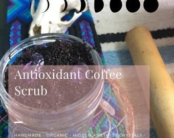 Antioxidant Coffee scrub