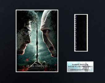 Harry Potter Deathly Hallows pt 2  8 x 10 film cells