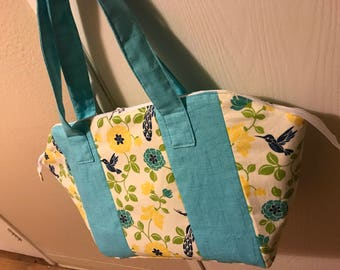 Birds & Flowers Shoulder Bag