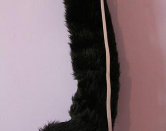 Short Faux Fur Cat Tail