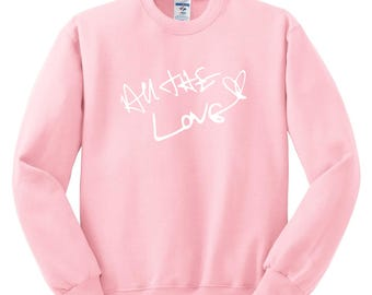 Harry Styles / All The Love Autograph Crew Neck Sweatshirt