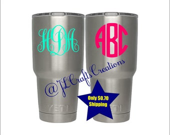 Tumbler Stickers Etsy - Custom vinyl stickers for tumblers