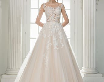 Wedding dress wedding dress bridal gown SACURA