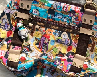 Authentic Tokidoki for LeSportSac Pirate Purse