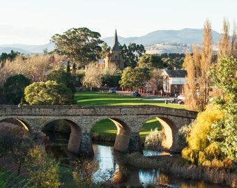 Richmond Tasmania - Canvas print