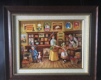 1932 The General Store by Lee Dubin victorian