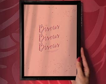 Love poster - 18 x 24 cm
