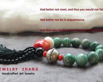 BoHO style 2 different color  bracelet