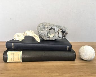 Lucky Stone Hag Stone Hagstone Wish Stone Good Luck Stone Protection Amulet Holey Stone Odin Stone Witch Stone Adder StoneHex Natural Stone