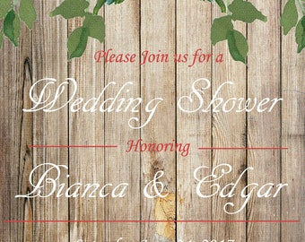 Wedding Shower, Bridal Shower Invitation, Bridal Shower Invite