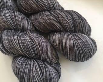 Hand Dyed Yarn - Chim Chimney - Moor - 100% superwash merino wool - fingering weight / sock yarn