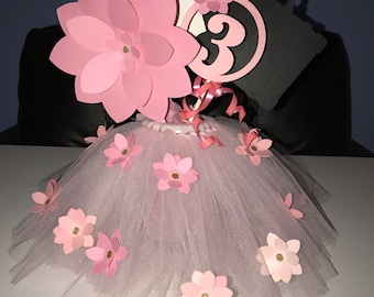 Inspired by Boss Baby - Ombre Pink Tutu Centerpiece