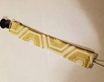 Gold Binkie Strap