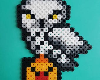 Hedwig and Letter Perler bead Sprite