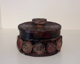 Recycled Paper Jewelry Box