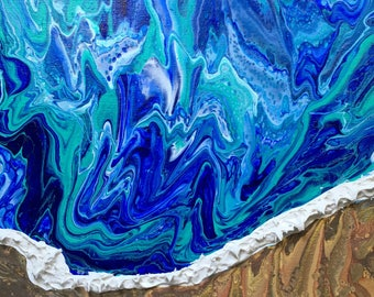 La Jolla Cove (Medium) 12x16 inch canvas